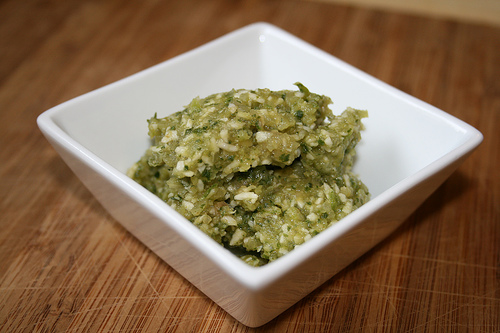 cilantro coconut pesto