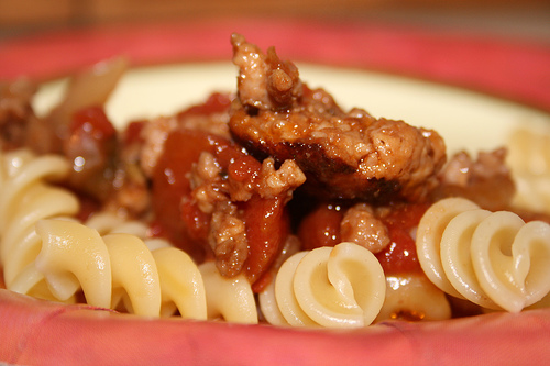 red sauce and pasta www.talkoftomatoes.com