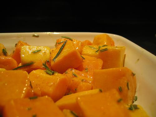 roasted sweet potatoes www.talkoftomatoes.com