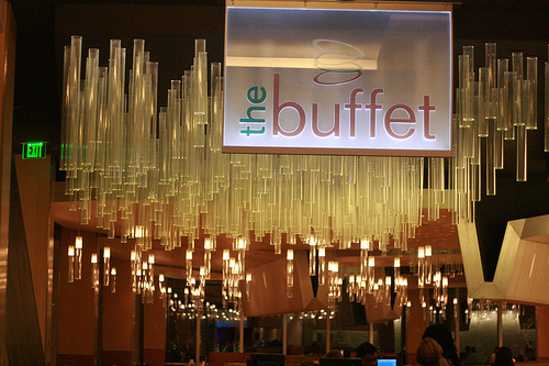 the buffet aria