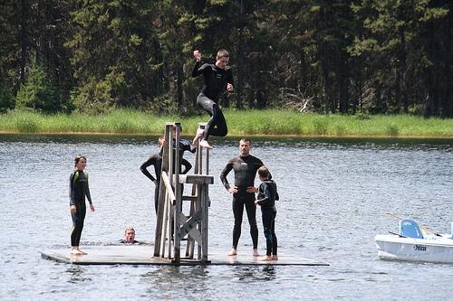 caleb jumping