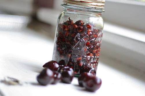 cherry pits @talkoftomatoes