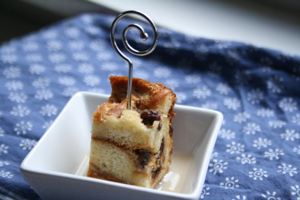 whiskey bread pudding | talkoftomatoes.com