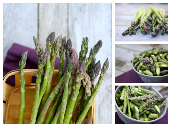 asparagus tips @talkoftomatoes