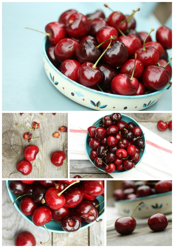 sweet cherries @talkoftomatoes