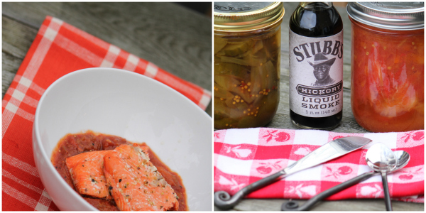 salmon sauce @talkoftomatoes