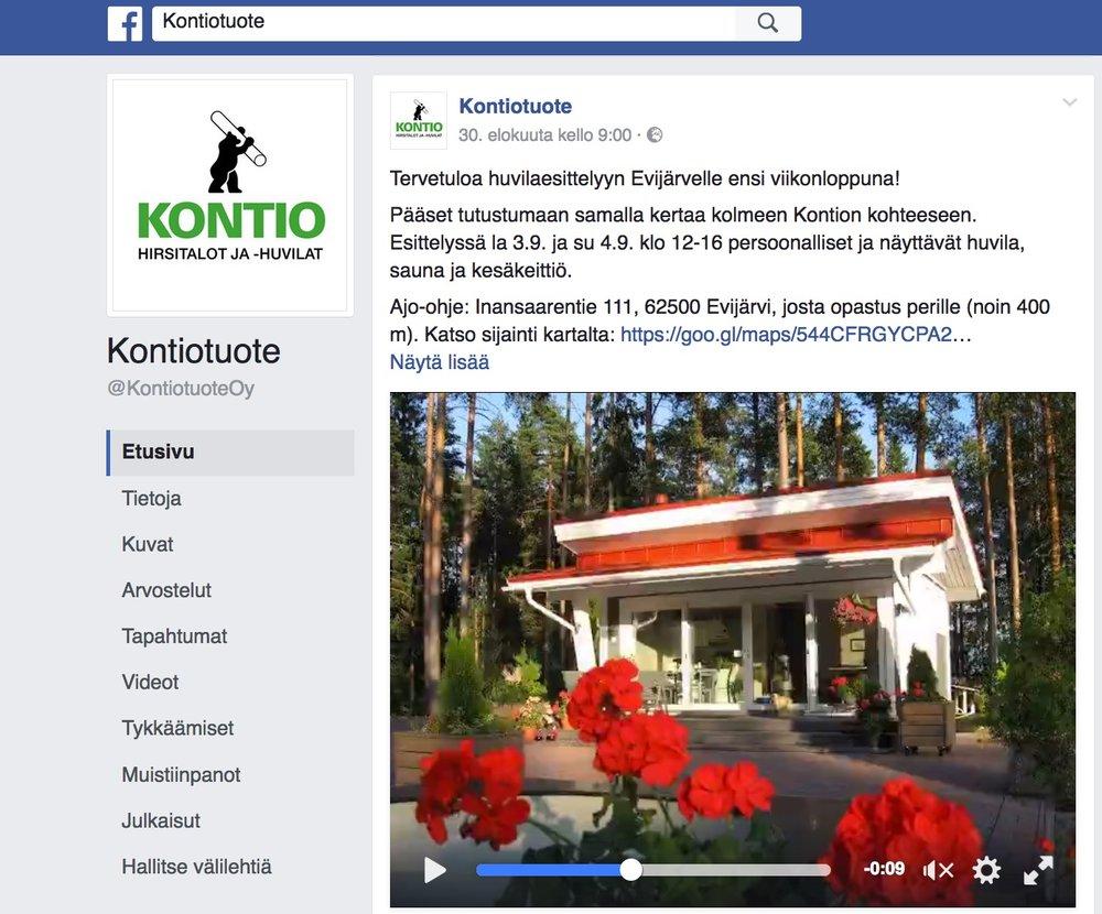 Tutustu Kontion Facebook-yhteisöön  täällä