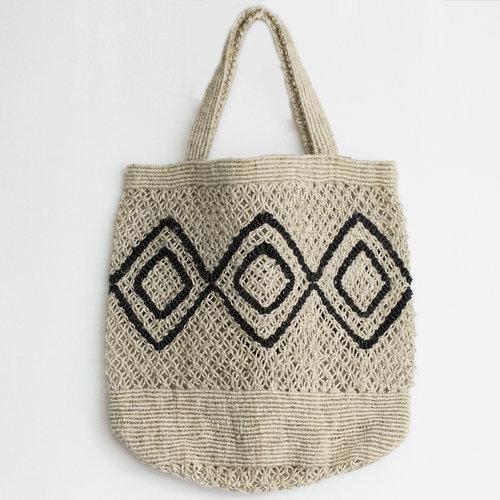 Maison Bengal - Macrame Bag  click to shop