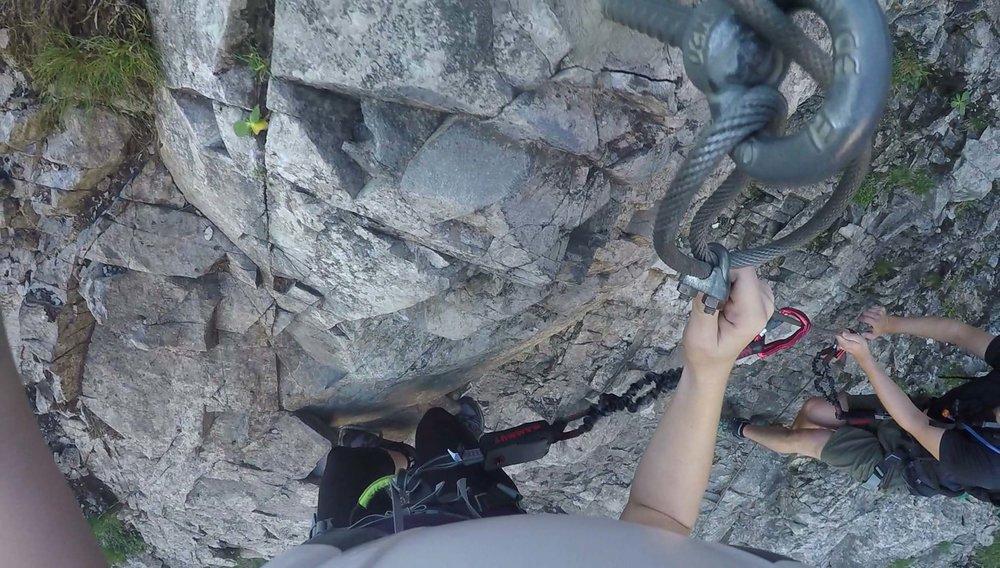Klettersteig Engstligenalp : Engstligenalp u michelle patrick