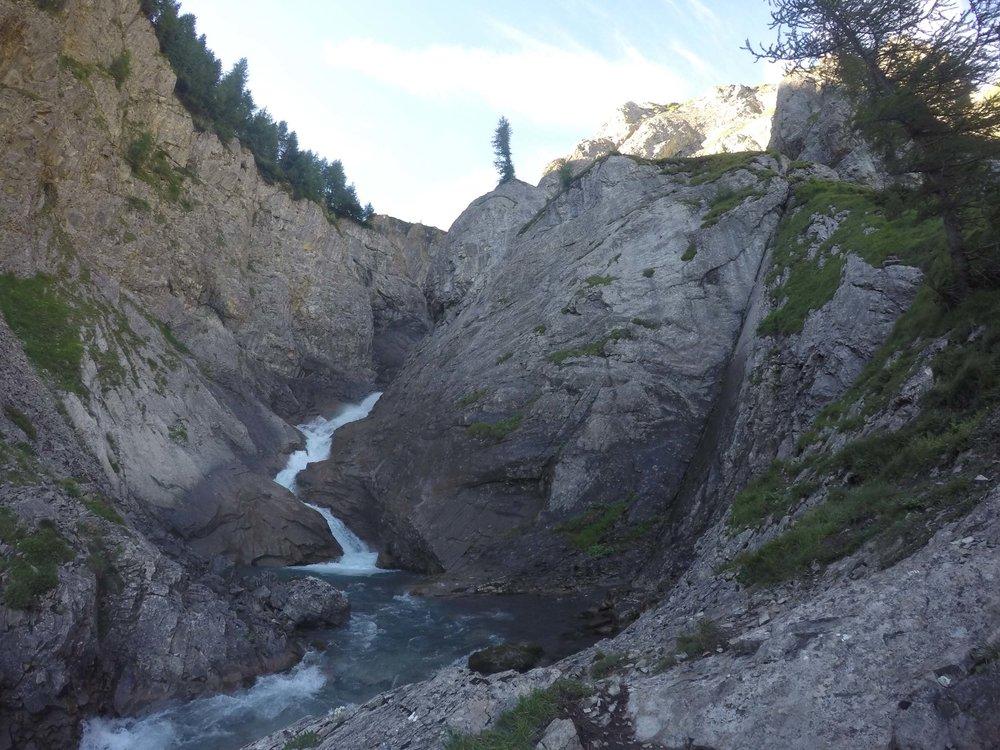Klettersteig Chäligang : Chäligang klettersteig via ferrata engstligenalp adelboden