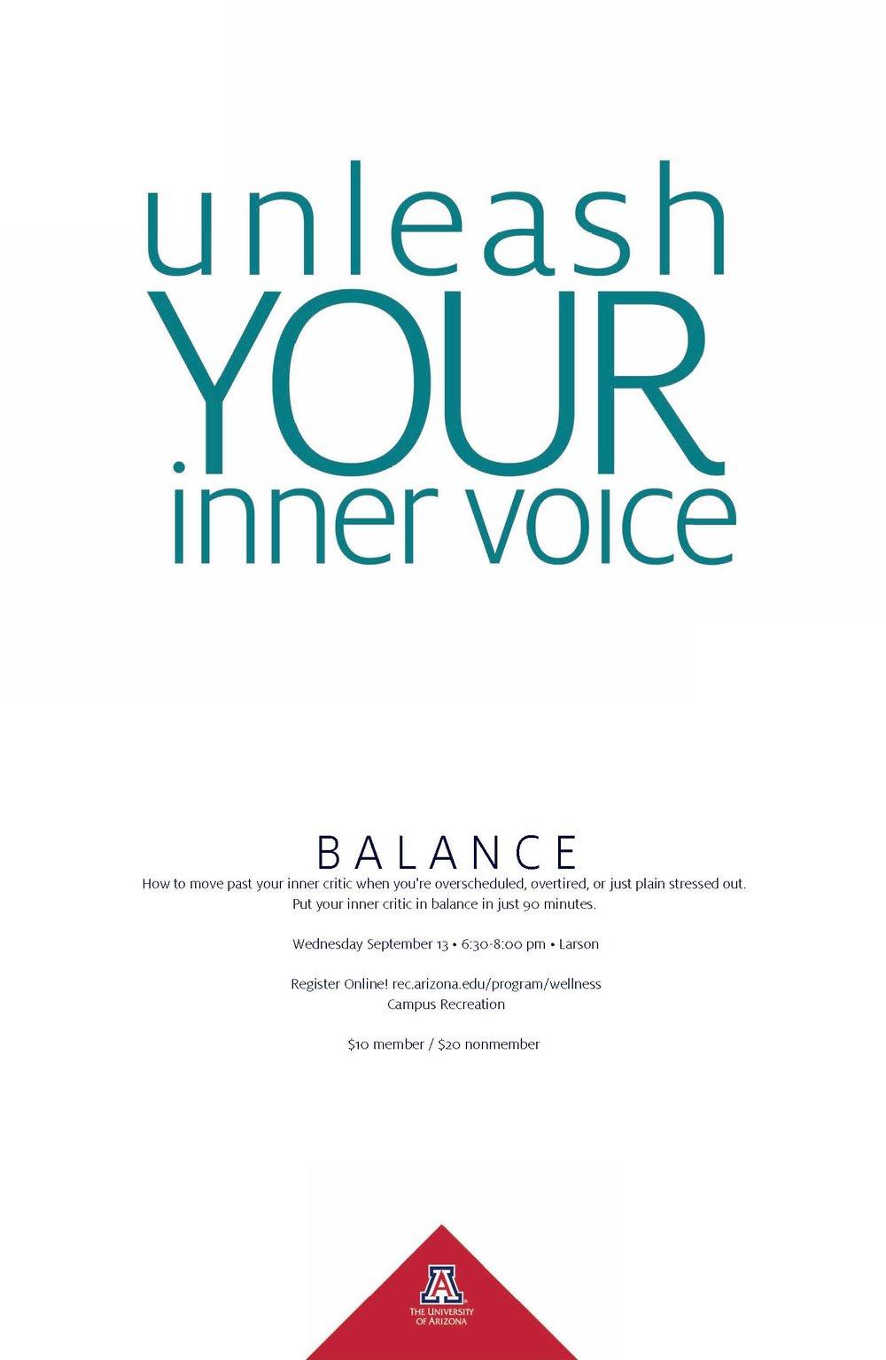 Unleash the Inner Voice @ Art Yoga Wellness