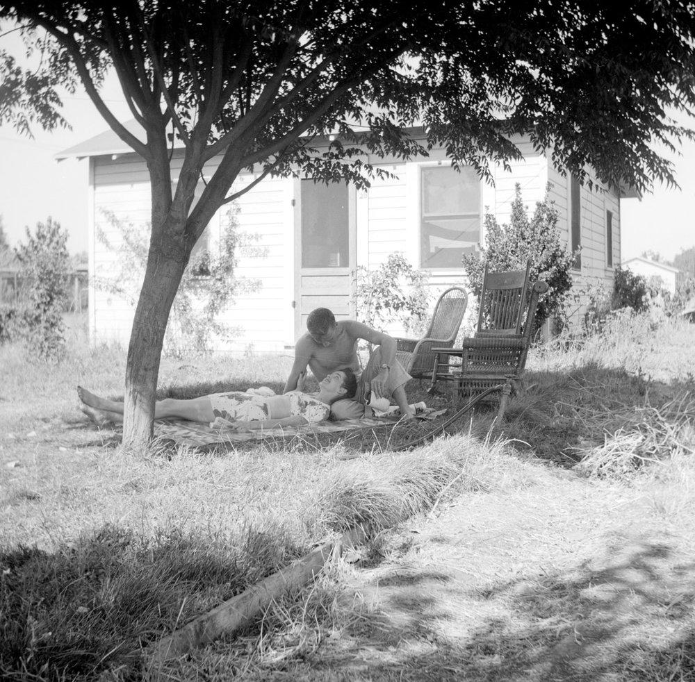 Frank and Lois Nichols, 1945