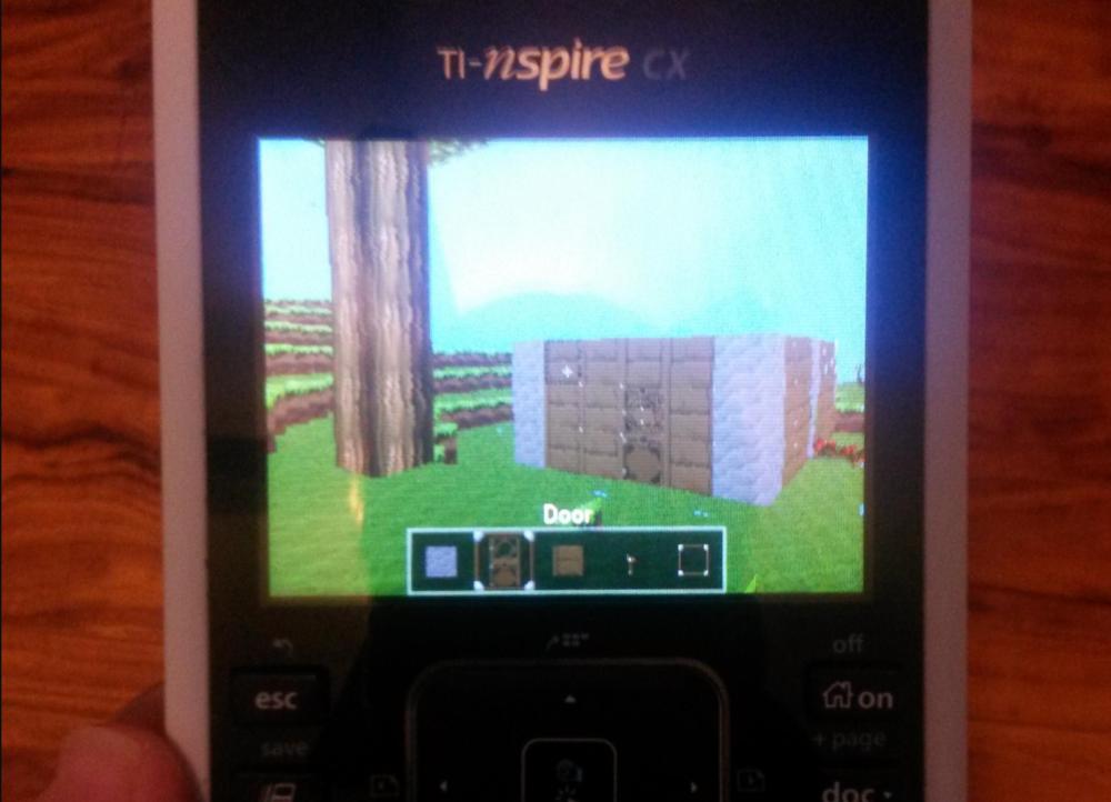 Photo of TI-Nspire via Reddit
