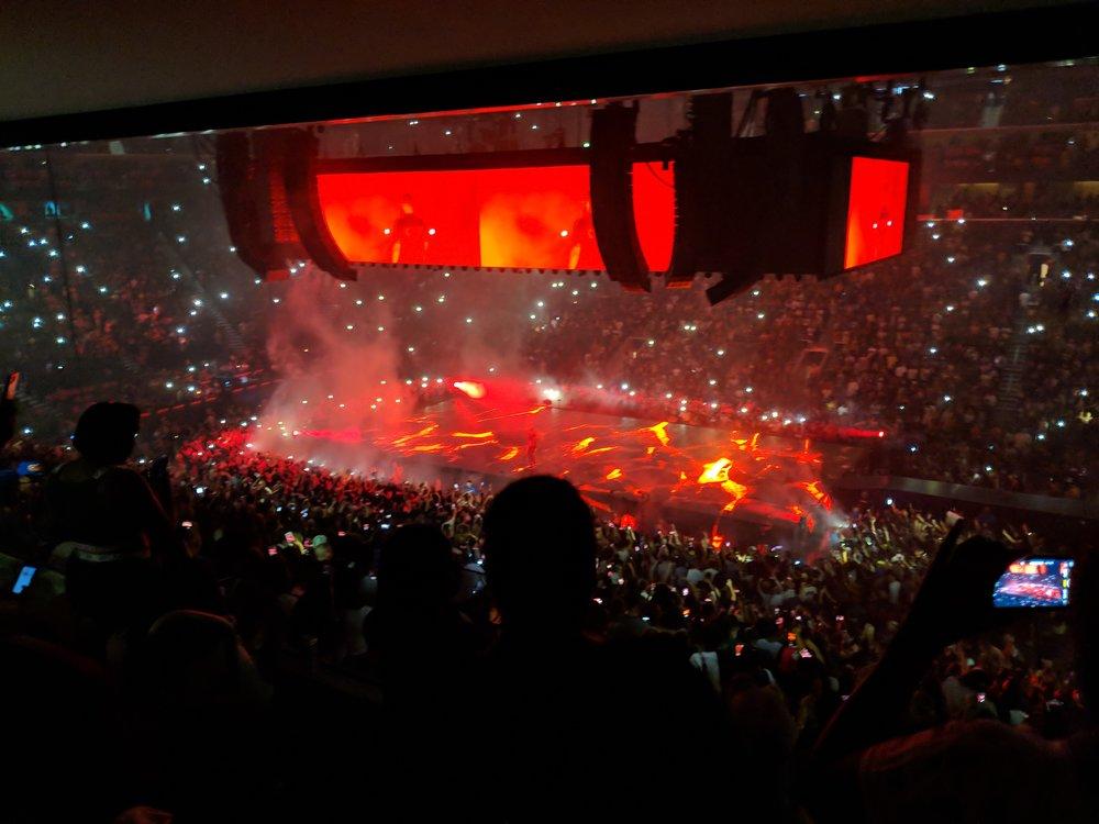 Migos/Drake concert at Little Caesars Arena