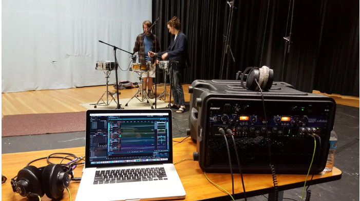 Recording session for the VSCO 2, Summer 2015 Session for VSCO 2, Summer 2015