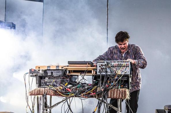 Thomas Arsenault aka Mas Ysa performing in 2016