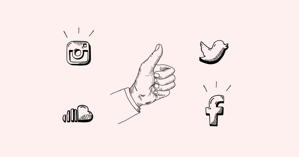 artist social media fanbase