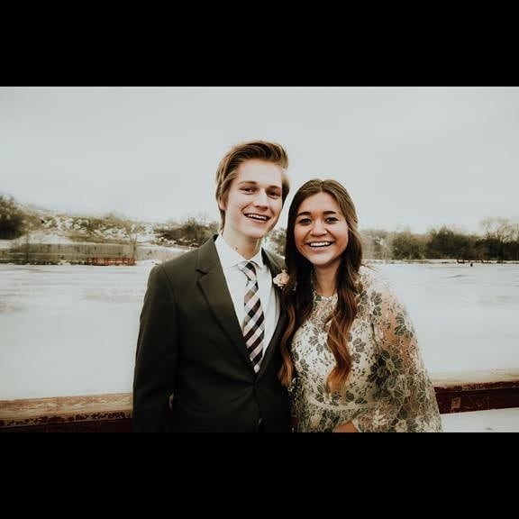 Such an unforgettable night with such an amazing girl! Thanks for taking me to preference Kylee! My group was so fun too!  #preference2019 #highschool #schooldance #americanfork