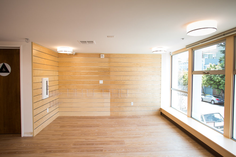 open, modern, white, clean, wood, san francisco school, elementary, architecture, children's space