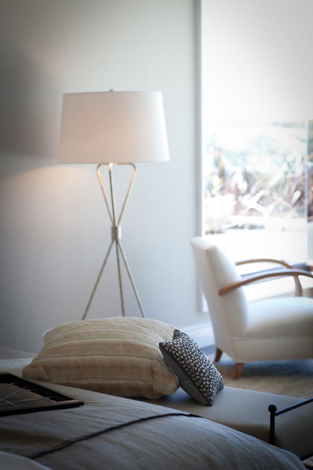 bedroom, floor lamp, bedroom chair