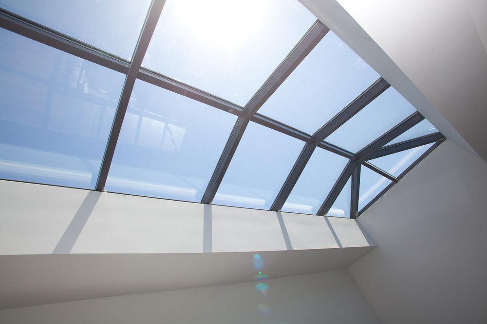 attic remodel, skylight, natural light