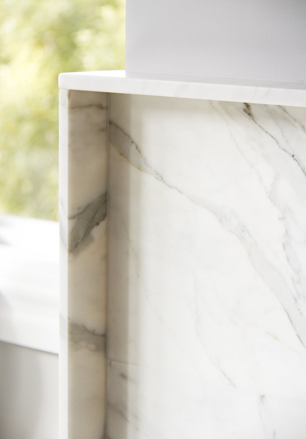 modern, marble, white marble, fireplace, details, architecture, design