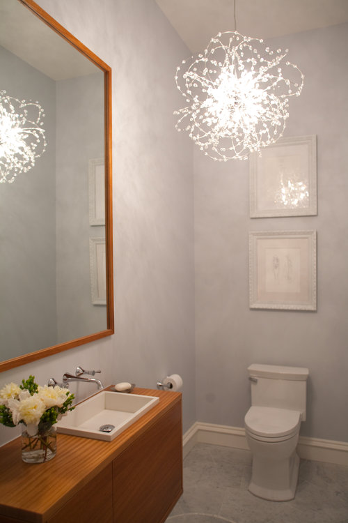 art nouveau, powder room, bathroom, modern, classic