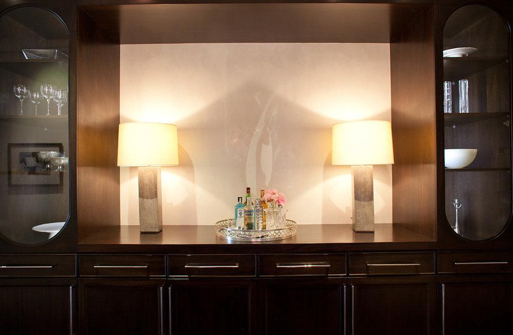 cabinetry, storage, hardware, pulls, Lamp, hallway, benjamin moore