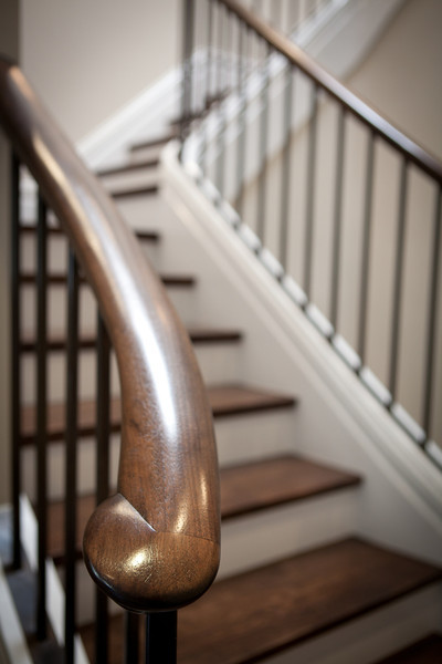 stairs, stairway, railing, steps, wood, details