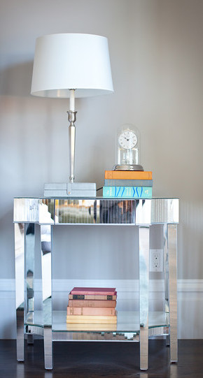 side table, detail, table lamp, accessories, bedroom, bedside table,