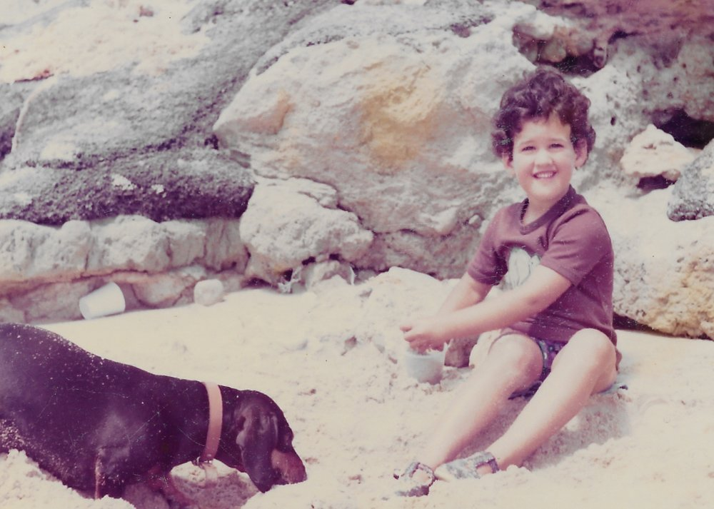 Me in South Africa, 1977