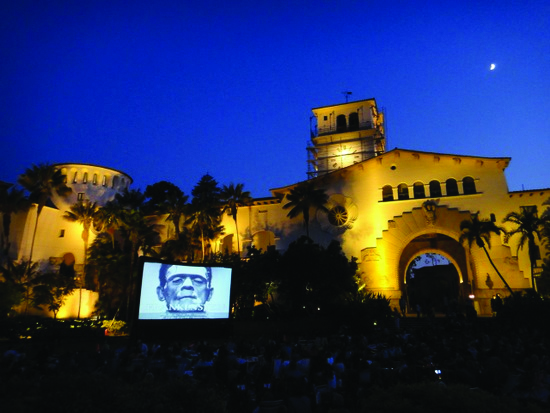 Sunken Garden Film Series -