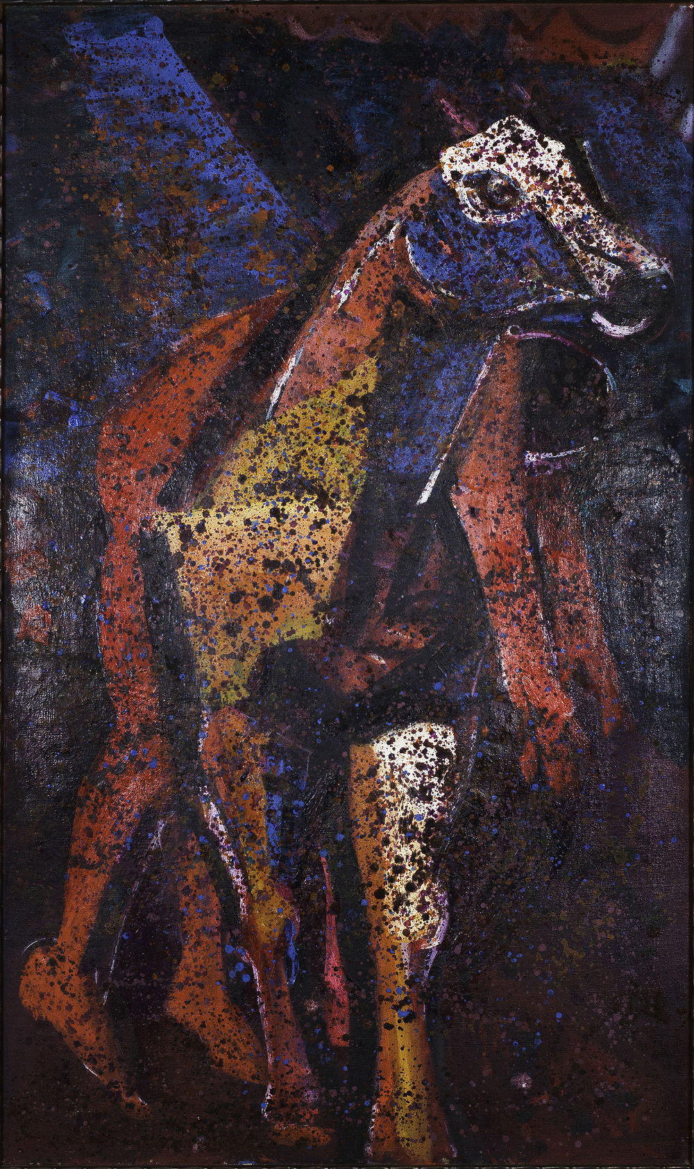 Channing PEAKE   Horse and Man   1959