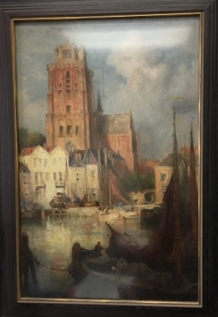 Colin Campbell COOPER   Dordrecht Cathedal   c. 1898