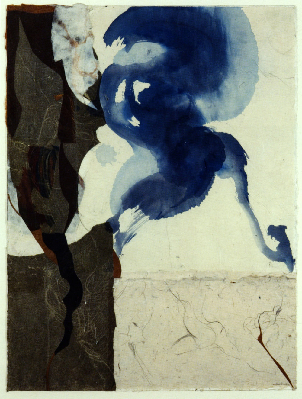 Mary HEEBNER   Indigo Sketches: Daphne   1997