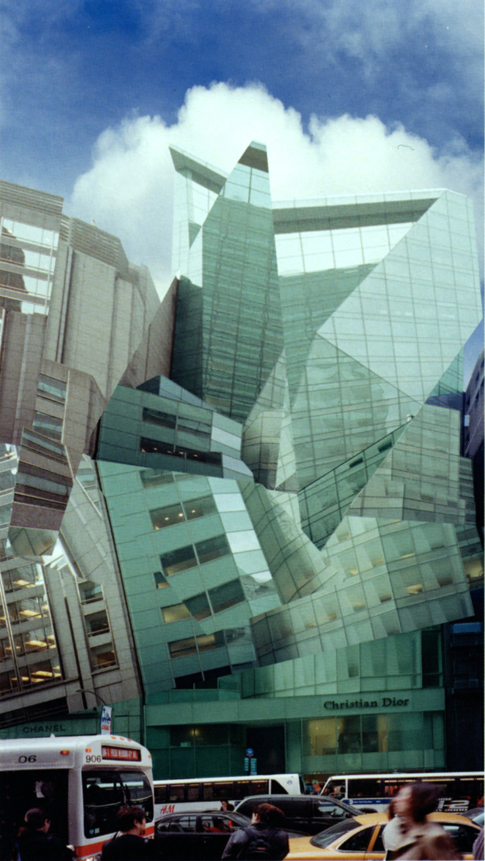 Wayne MCCALL   LVMH Building   2000