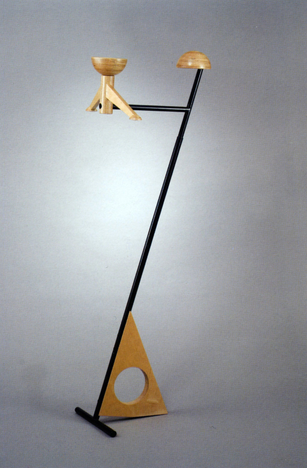 Paul TUTTLE (fabricated by Bud TULLIS)   Clothes valet   Unknown date; c. 1982-2001