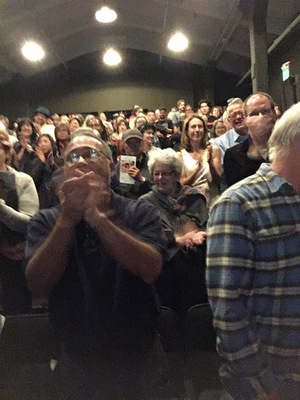 Standing Ovation at the World Premiere