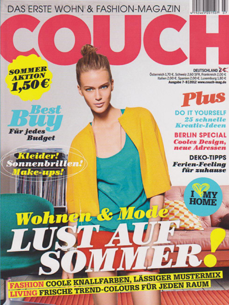 "<font size=""-1""><b></i>COUCH<br></b><i>July 2012"