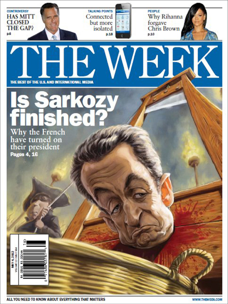 "<font size=""-1""><b></i>THE WEEK<br></b><i>May 2012"