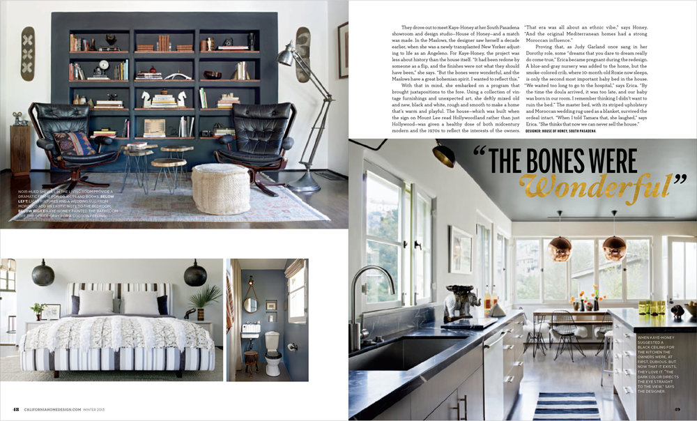 Aster + Quail: California Home + Design Feature