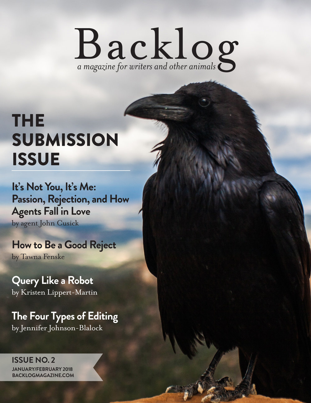 Backlog Magazine Cover