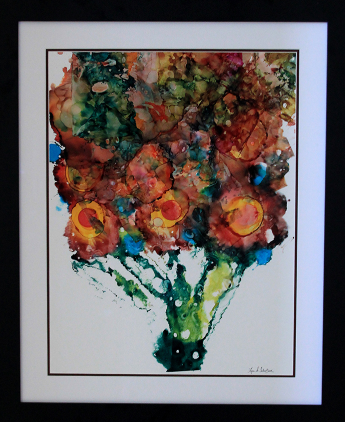 Interior Design For Home And Office Paintings   Fine Art Alcohol Ink  Painting   Abstract Painting   Contemporary Interior Design Painting