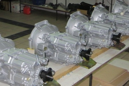 Mercedes Gearboxes -
