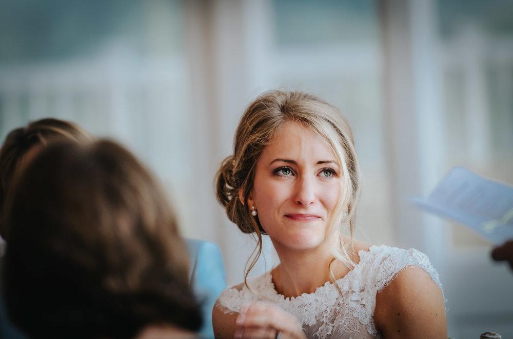 Wedding Photographer Hertfordshire - Bride Crying