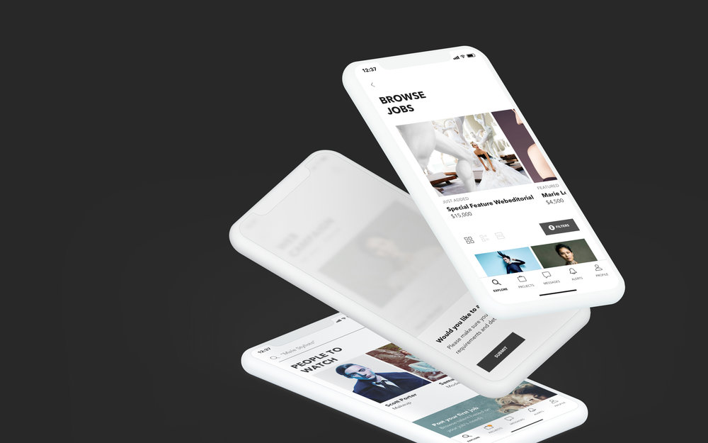 Swipecast connects you to top tier talent in the fashion industry. I worked with the team to give this app an entirely new system and look, through an experience redesign and brand refresh. - SEE THE WORK