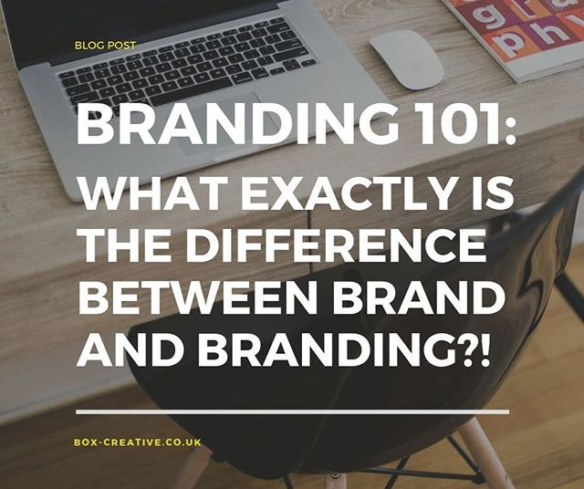 There is a fundamental and VITAL difference between these two terms - one is an activity in your business, the other IS your business! Check out this Branding 101 post that explains them so you can start to tap into your brand's true potential... Go forth brand builder!⠀ ⠀ Link to blog in bio⠀ ⠀ #boxcreativeuk #brandbuilder #branding #brandconfident #design #logo #business #graphicdesign #brand #entrepreneur #brandvsbranding #brandingtips #designer #creative #smallbusiness #success #creativity #brandstrategy #brandidentity #entrepreneurs #startup #logodesign #graphic #b2b #buildyourbusiness #brandstudio #brandidentity #businessowner #logoinspiration
