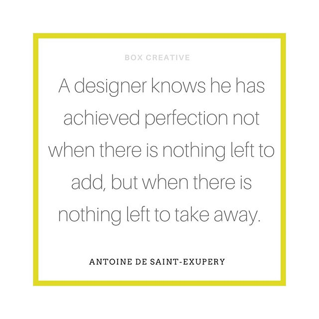"A true modernist approach!⠀ ⠀ ""A designer knows he has achieved perfection not when there is nothing left to add, but when there is nothing left to take away"" ⠀ ⠀ ANTOINE DE SAINT-EXUPERY⠀ ⠀ ⠀ #boxcreativeuk #brandbuilder #branding #investindesign #design #logo #business #graphicdesign #brand #entrepreneur #gooddesign #brandingtips #designer #brand #smallbusiness #success #creativity #entrepreneurship #graphicdesigner #entrepreneurs #gooddesign #modernist #logodesign #graphic #AntoinedeSaintExupery #ideas #legend #brandidentity #businessowner #logoinspiration"