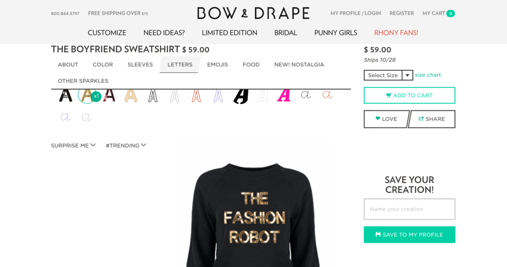 Bow & Drape