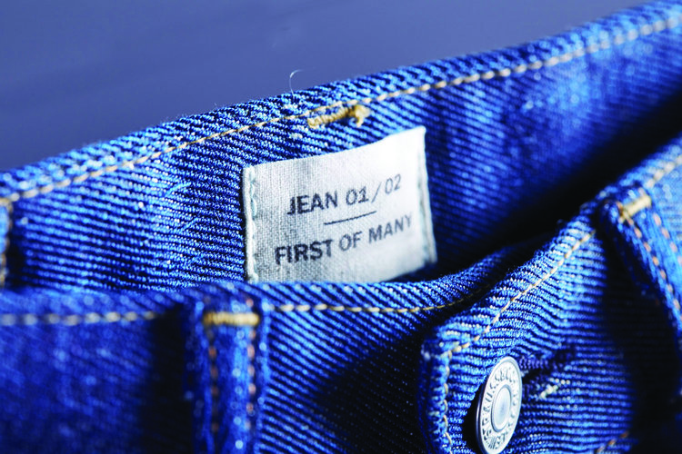 Levi's and Evrnu make jeans from post-consumer cotton waste.